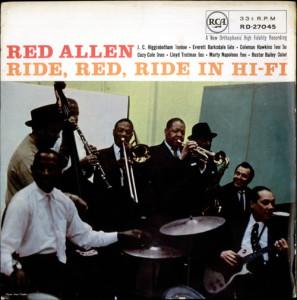 Henry Red Allen Ride Red Ride